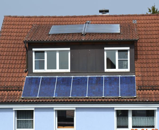 Solar, Dach und Fassade